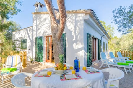 Llesca - lovely chalet in Cala S'Almonia - Cala s'Almonia - Hus