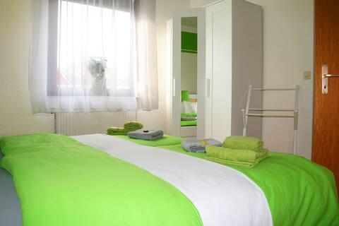 Grünes Nest: Wohnung mit attraktiver Ausgangslage