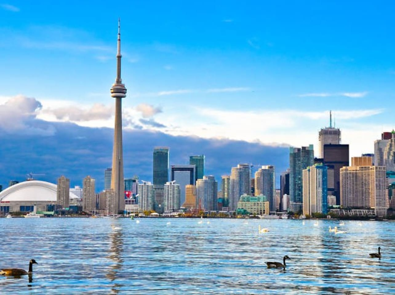 This is Toronto Waterfront, a 10 minutes walk from my place. This photo is for illustration purposes only