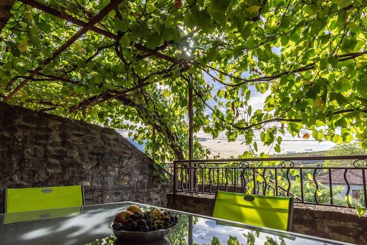 Maison de charme avec terrasse privative