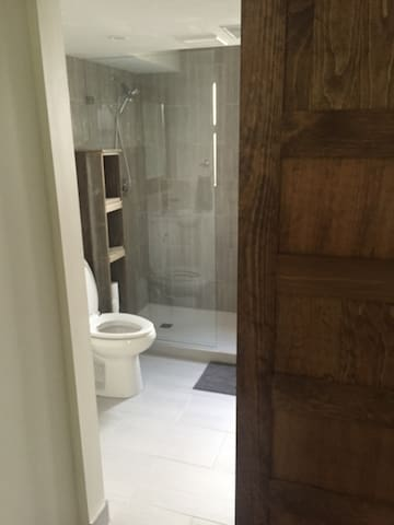 Gorgeous renovated bathroom! Private