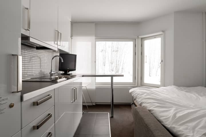 Bright and Comfy Studio in Tott w. Ski-in, Ski-out
