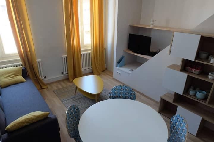 Appartement moderne , cosy avec possibilité jardin