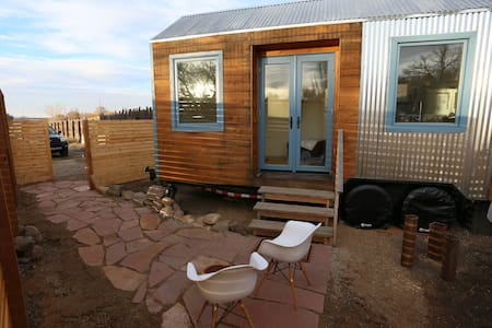 My Taos Tiny house on wheels - Ranchos de Taos - Maison