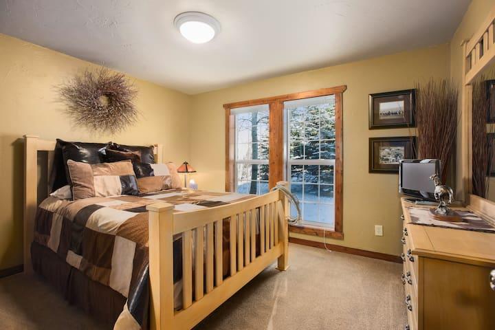 Guest Bedroom #1 With DVD TV