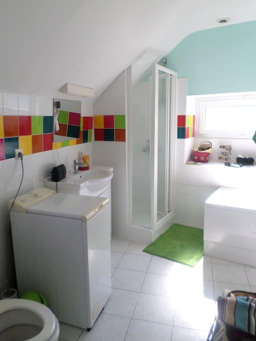 Salle de bain/toilettes