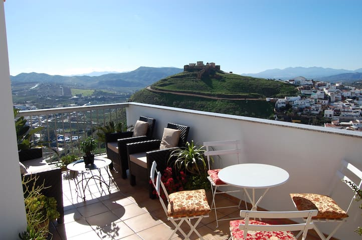 A luxury 2 bedroom penthouse - Álora - Appartement