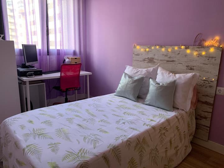 Habitación tranquila en El Cañaveral.