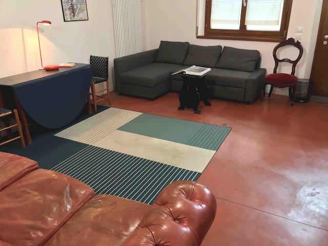 Confort loft : centrale con accesso indipendente.
