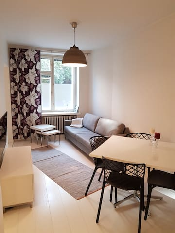 Every road leads to this 35 m2 apartment in Töölö!