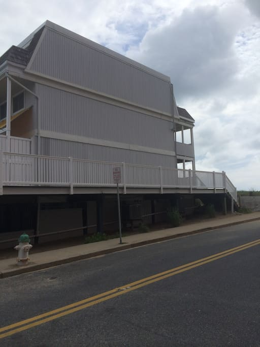 Beachwalk unit #8 Oceanfront and 67th street