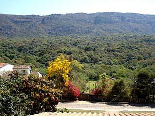 Casa/Loft em Tiradentes com vista para a serra