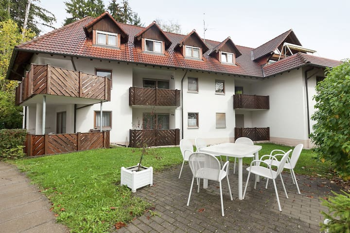 Spacious apartments in Bad Dürrheim close to the spa gardens
