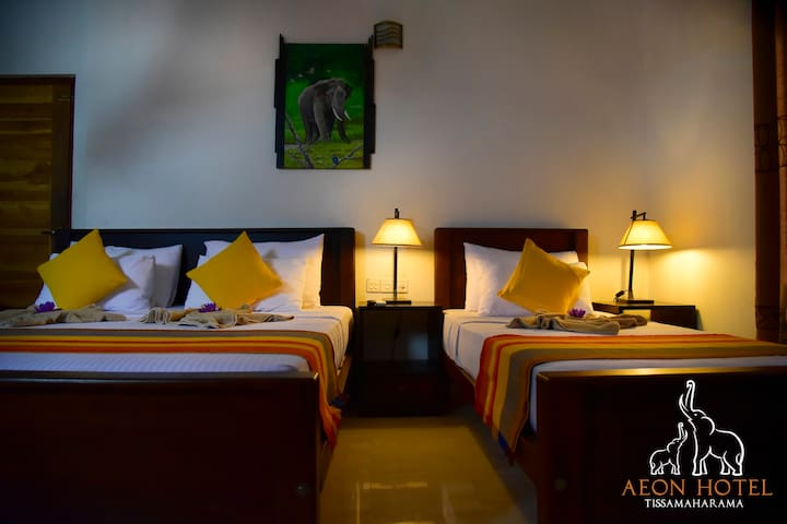 luxury triple room - Aeon hotel and resturant