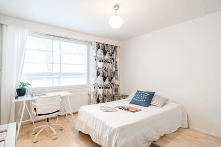 Comfortable room in the centre of Tampere - Apartment
