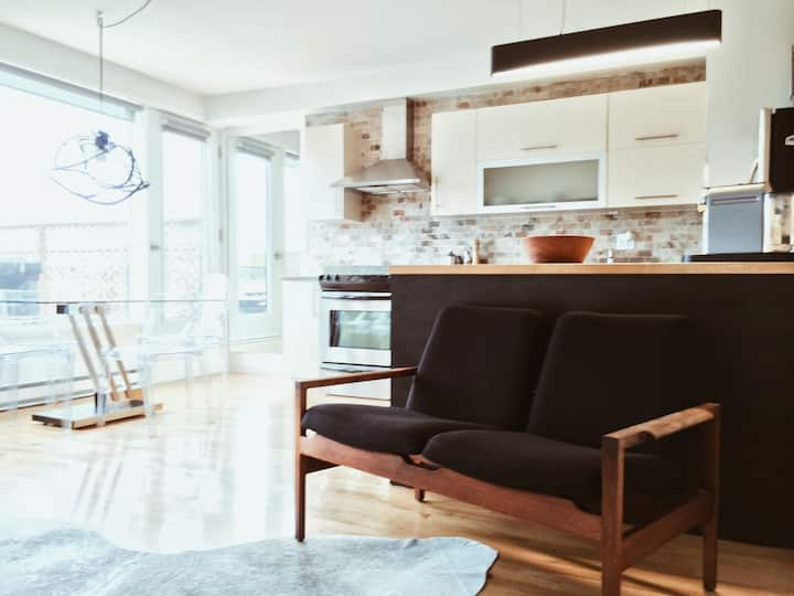 Superbe Loft  2-story Mile-End