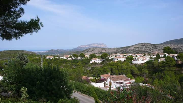 Benidoleig Village Penthouse Duplex near Denia
