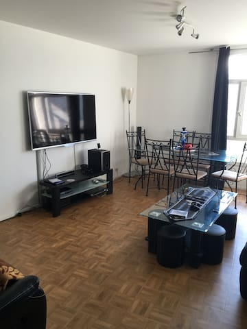 Bel appartement à 20 m de la basilique de Saint-Denis - 聖但尼 - 公寓