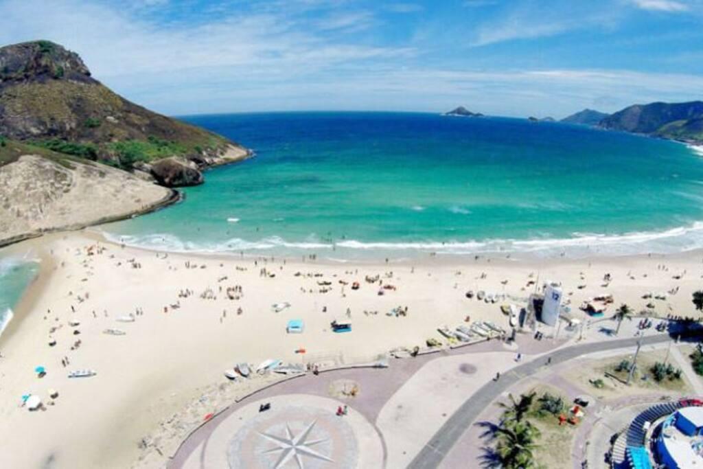 Praia da Macumba. Macumba Beach.