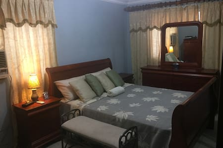 Beatifull spacious room with bath in safe location - Santo Domingo Este