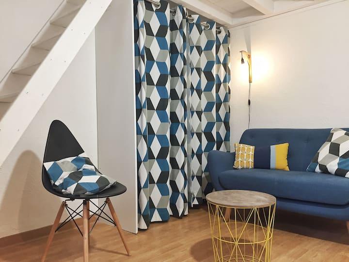 HYPERCENTRE ESQUIROL-CAPITOLE: Studio tout confort