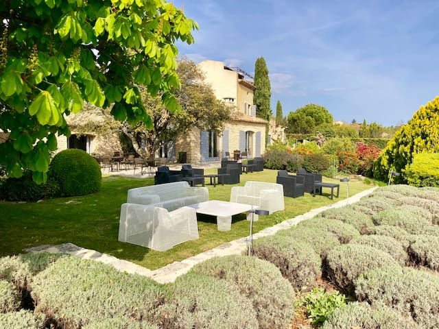 Domaine de l'Enclos - Duplex Suite with view