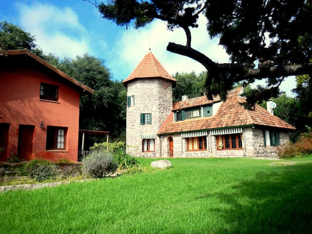 EL MORTERO casa y cabañas - La Cumbre  - Haus