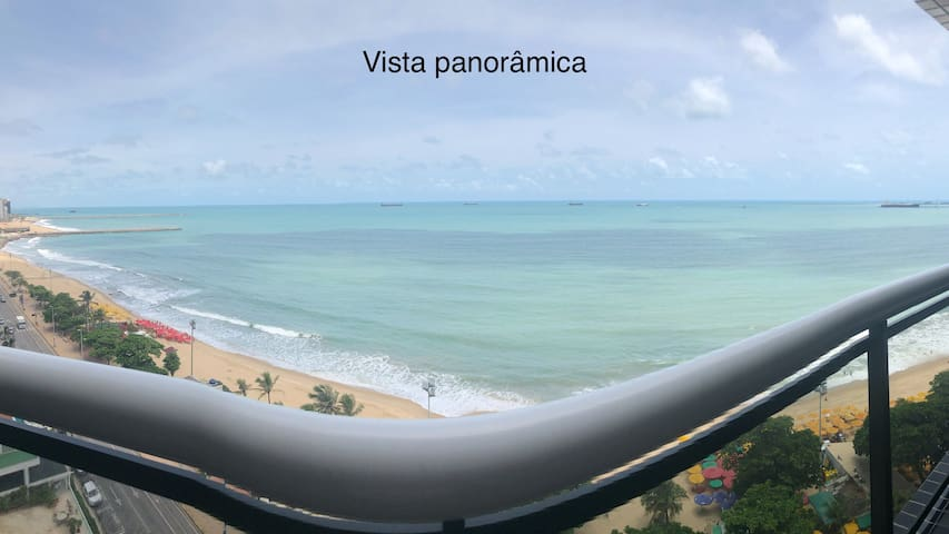 Apartamento com vista da Beira Mar de Fortaleza