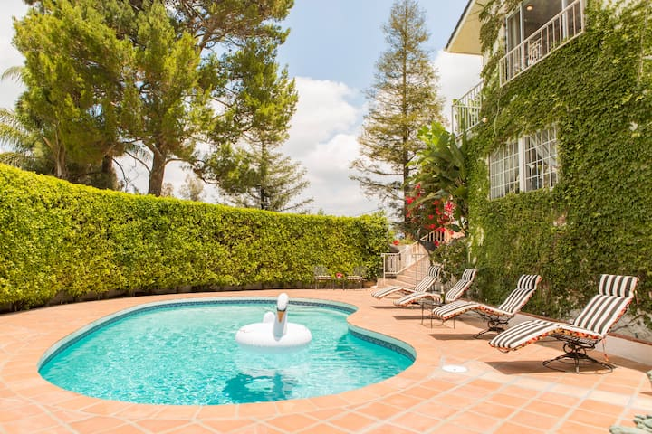 Hwoodhils mansion with Pool & Views - Los Angeles - Huis