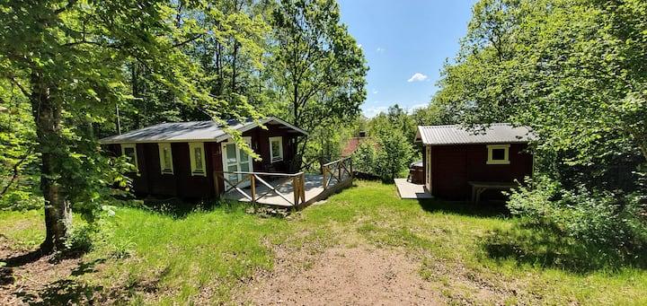 Cottage/Lodge 36m²+Sauna 8m²+Kitchen