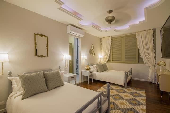 Twin room Hotel Monaguillo de Getsemani