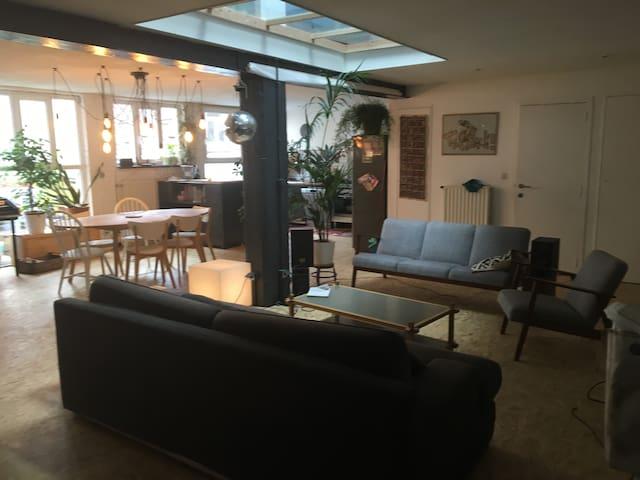Appartement familial 4 chambres//Gare du midi - Anderlecht - Apartamento