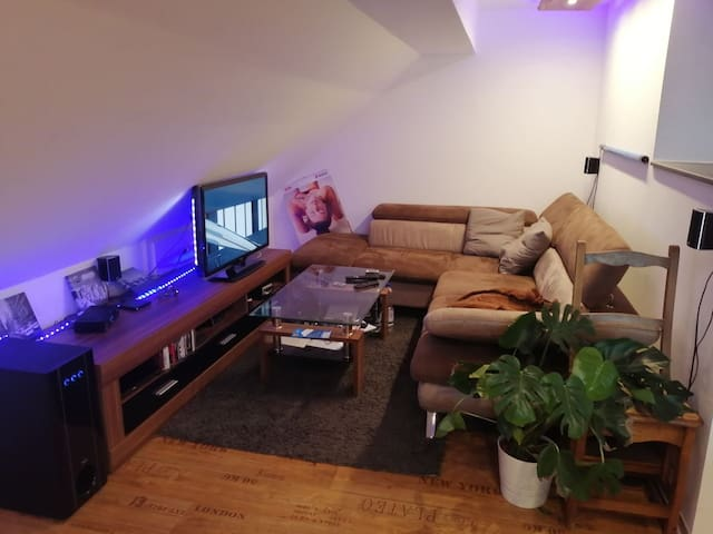 Wohnung mit Privatzimmer anzubieten!