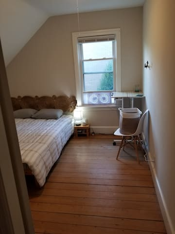 Spacious room. NEWLY ADDED AIR CONDITIONER!