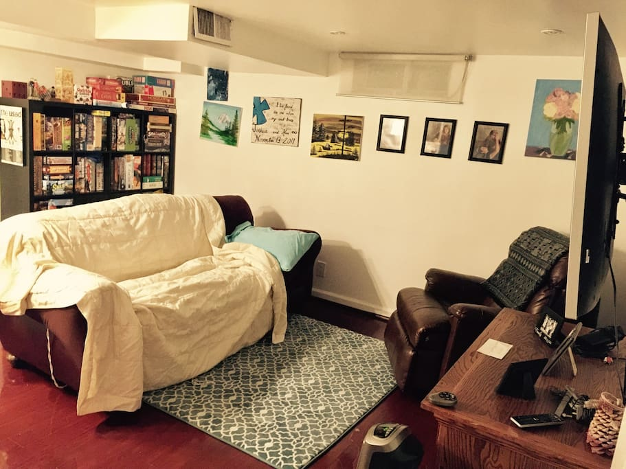 finished basement near the metro houses for rent in