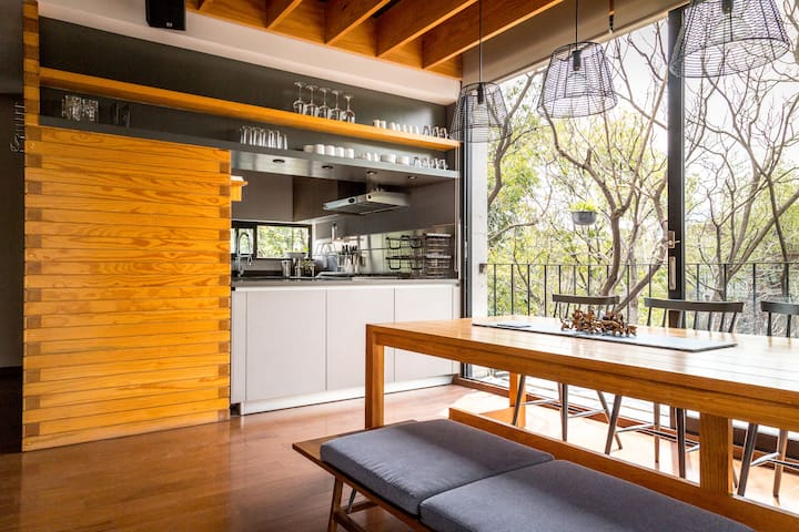 Big and beautiful loft in the heart of Condesa