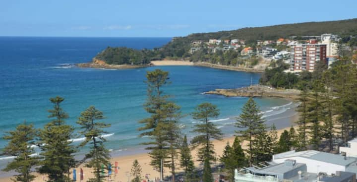 Breathtaking Views of Manly Beach.