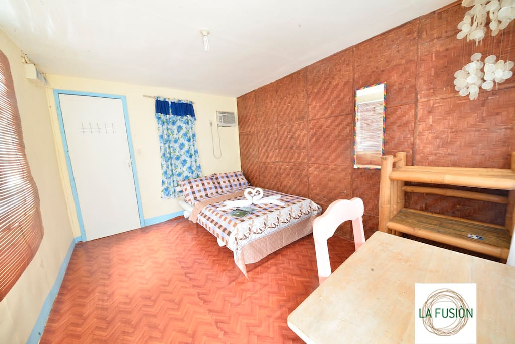 Native style bedroom.
