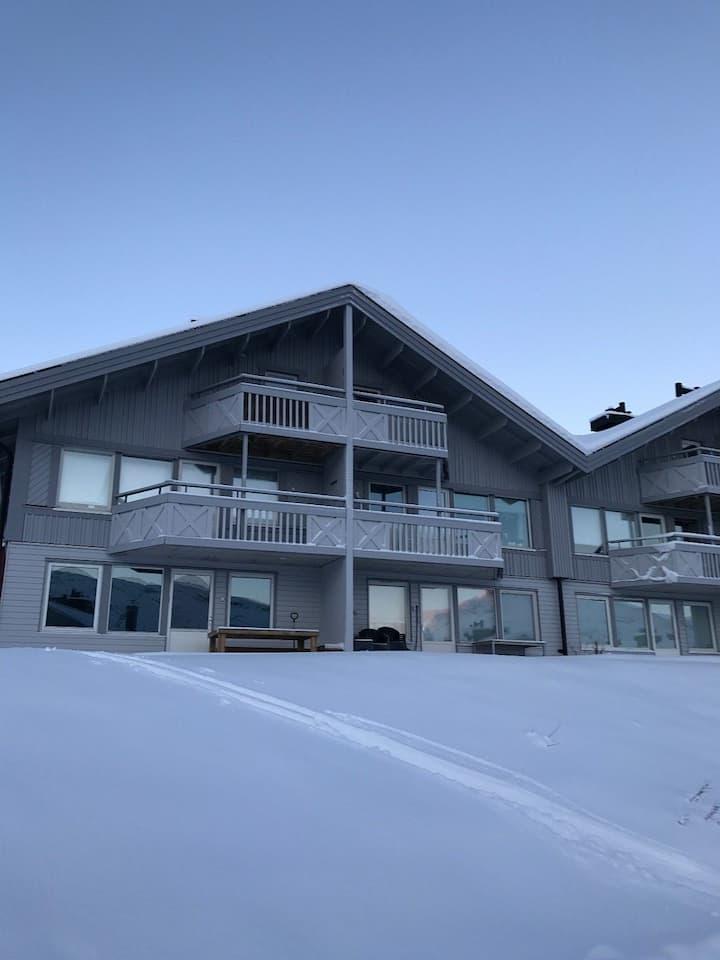 Modern practical apartment at Riksgränsen