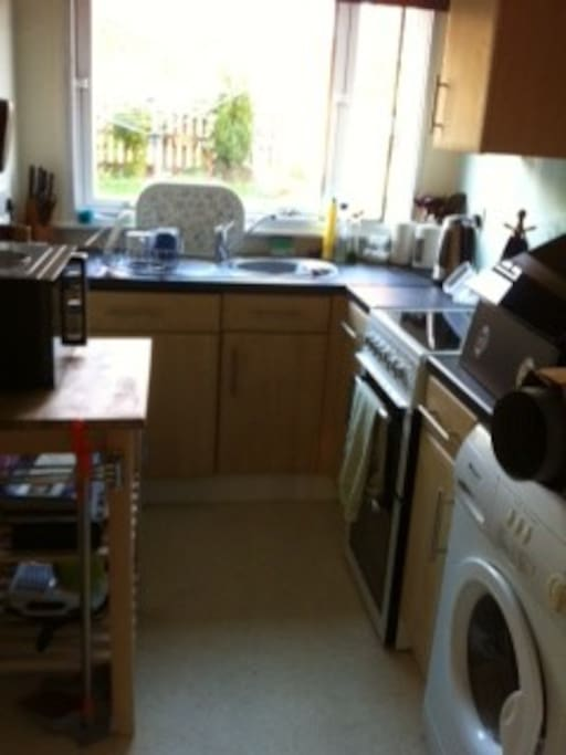 Compact but fuctional kitchen