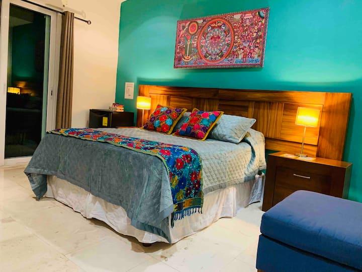 Hermosa habitación en fluvial  sanitizada