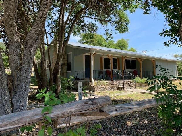 Clark Creek Ranch Cabin | Medina | TX | Vacation