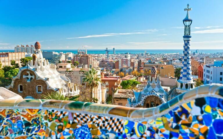 Santa Monica LAS RAMBLAS Barcelona