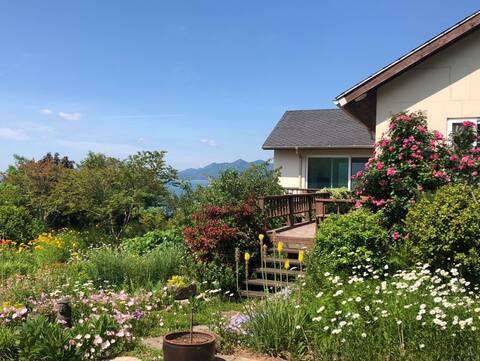 [House 'with-South Sea City 480 Pyeong] Diventa il proprietario🧑🏼🌾 del grande giardino.