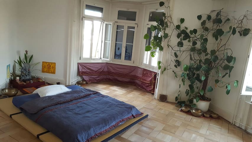 spacious room 8 min by bus to luzern trainstation - Kriens - Apartamento