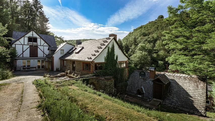 Traumhafte Mühle mit Sauna im Ehrbachtal