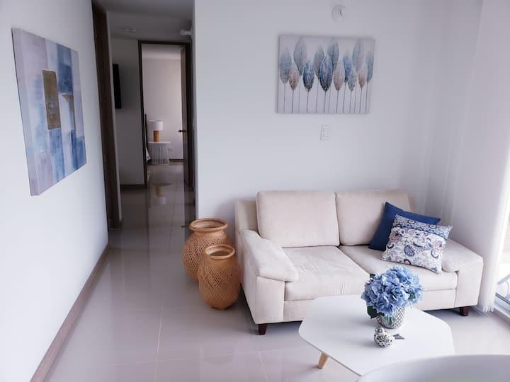 Lindo y acogedor apartamento para estrenar.