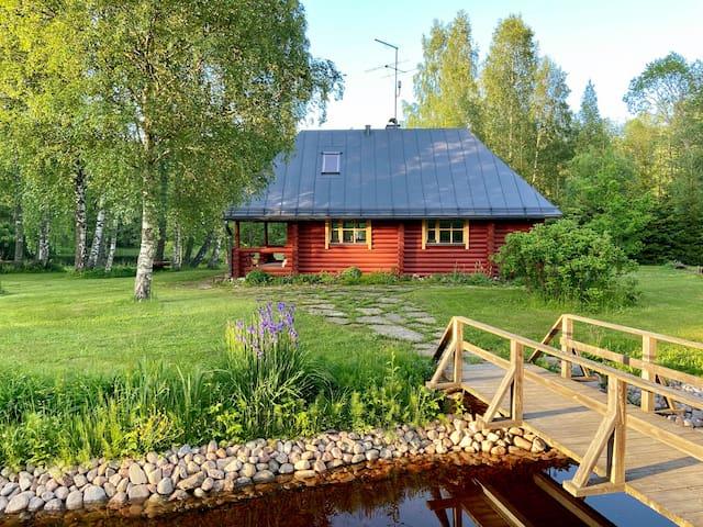 Cozy sauna with grill near Tallinn