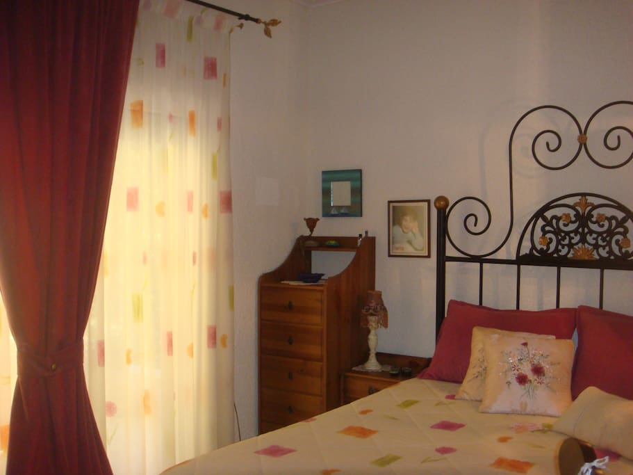 Bedroom1 with double bed