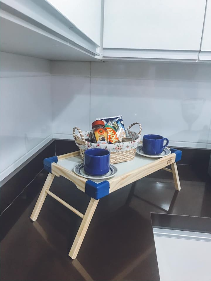 Café de Boas Vindas  Cortesia